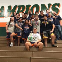 MLA Boys Wrestling Team Wins 1st Place!