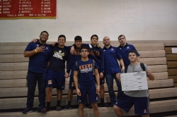 Mater Lakes Academy's Wrestling Team Qualifies Five Wrestlers to State