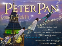 The Mater Lakes Thespians Fly Off to Neverland!