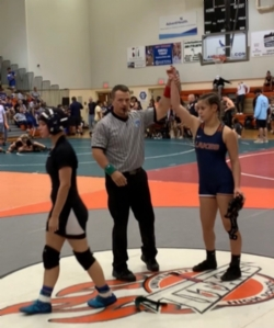 Two Bears Bring Home Gold In Wrestling Season Opener