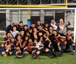 Boys Varsity Soccer team are District Champions!!!
